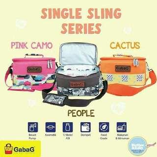 Cooler  bag gabag sling/ tas asip gabag selempang