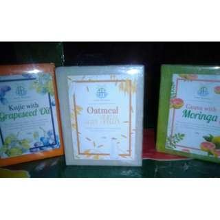 Organic skin soap