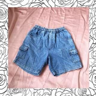 celana pendek jeans anak baby preloved like new