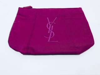 YSL 大logo 化妝袋