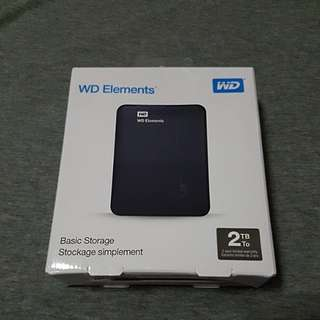 WD Elements Basic Storage 2TB
