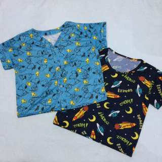 Pajama Tops Set 4T
