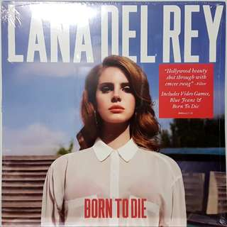 Vinyl LP : Lana Del Rey - Born To Die