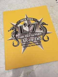 L'Arc~en~Ciel Tour 2008 Trans ASIA via PARIS 場刊 hyde VAMPS