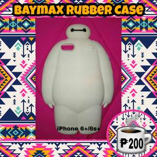 iPhone 6+/6s+ Baymax Rubber Case