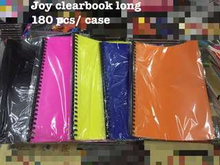 Clearbook long