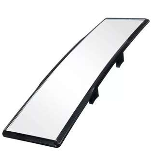 Blind spot wide arch curve rear mirror
