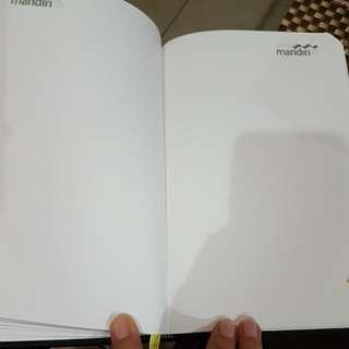 Buku agenda bank mandiri