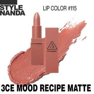 Sale 3ce mood recipe shade 115 bnib