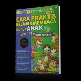 Abacaga - Buku Metode Belajar Membaca