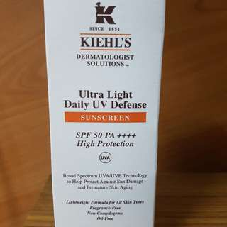 Kiehl's sunscreen or sunblock (60ml)