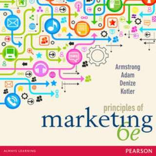 Principles of marketing textbook 6th edition