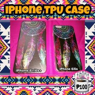 iPhone 6/6s 6+/6s+ Dream Catcher Dark Colorful TPU Case