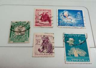 South Africa Stamps #M71