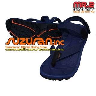 Suzuran Sandal Gunung Extreme X (MR2) Navy Blue (size 39 s/d 43)
