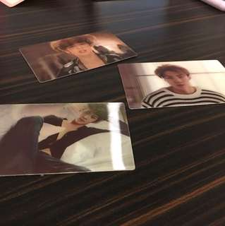 EXO's picture changing photocards