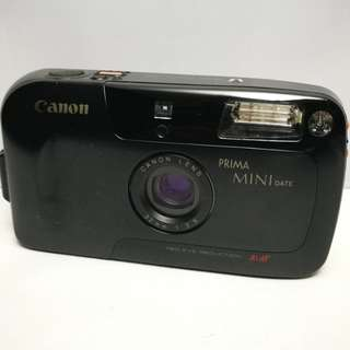 Canon Prima Mini film camera