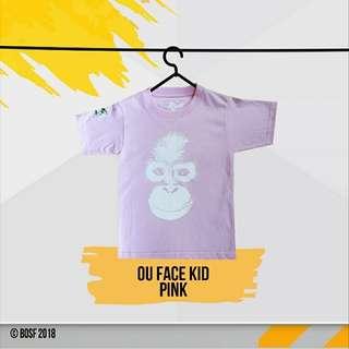 OU Face Kid Pink