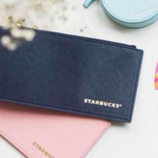 Starbucks Navy Blue Pouch/Wallet