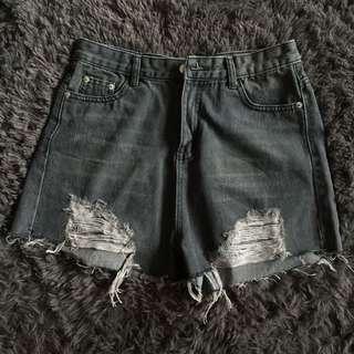 Uk12 denim shorts