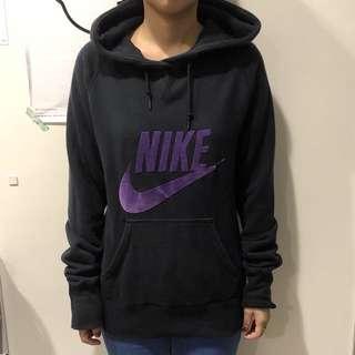 NIKE 帽T|紫色m號