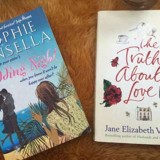 "Books (SOPHIE KINSELLA ""A WEDDING NIGHT"") (JANE ELIZABETH VARLEY "" THE TRUTH ABOUT LOVE"")"