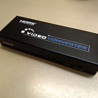 100% function HDMI to AV VGA YPbPr 色差 SPDF box converter 轉換器