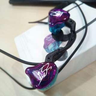 KZ ZST Bluetooth earphones