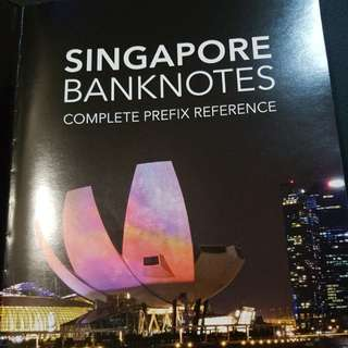 Singapore Banknotes - Complete Prefix Reference