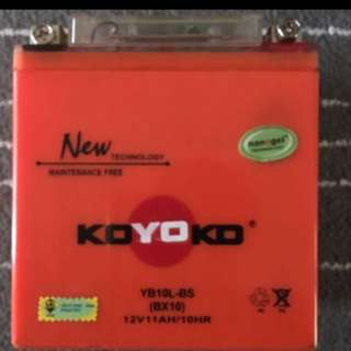 Koyoko Yb10l-bs Bike Batteryssss