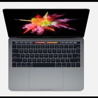 MacBook Pro 13-Inch 2017 Touch Bar Space Grey Warranty