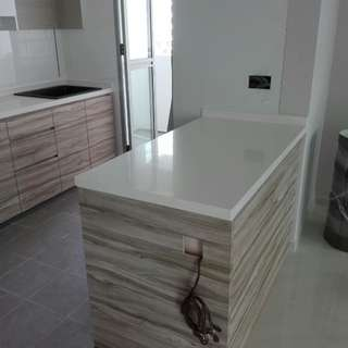 Carpentry works; Quartz, Granite and Onyx Top (Factory Price)
