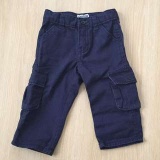 Osh Kosh Navy Blue Cargo Pants