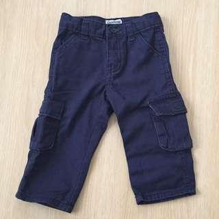 Osh Kosh Navy Blue Cargo Pants