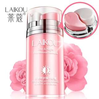 [PO]Day and Night Elastic Eye cream Skin care Facial Anti- puffiness Face Care Dark circles Anti Wrinkle Aging Moisturizing Firming