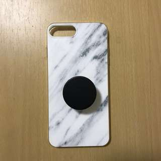 Paragon Pieces iPhone 7+ Marble Silicone Case