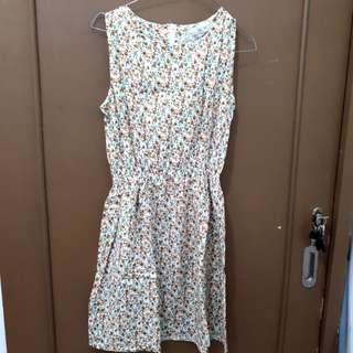 Dress bunga / Dress mini