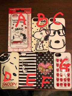 Snoopy IPhone 5/5s case