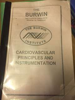 Burwin physics principles ultrasound