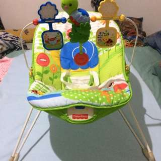 Fisher Price Bouncer with Vibrate Mode
