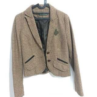 Zara brown blazer jacket