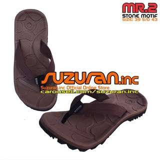 Suzuran Sandal Gunung Flip Flop (MR2) Brown (size 39 s/d 43)