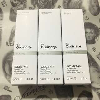 [現貨]The Ordinary EUK 134 0.1% 30ml