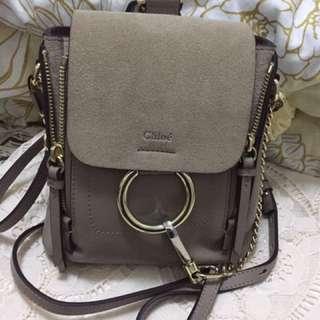Chloe Faye mini backpack