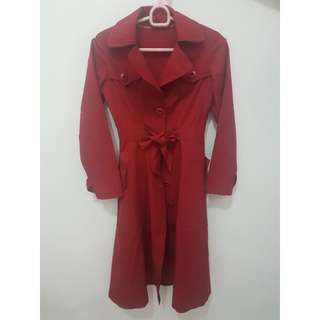 Coat Red size M