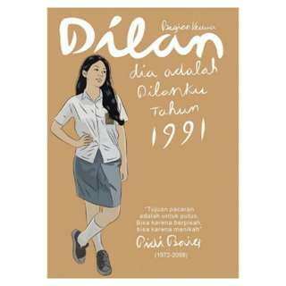 E-BOOK Dilan 1991 by Pidi Baiq