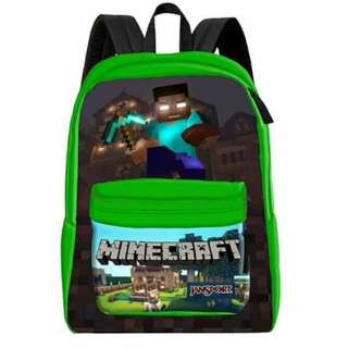 Jansport Green Minecraft Superbreak