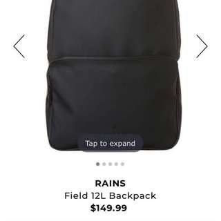 RAINS FIELD 12L BACKPACK