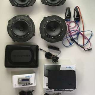 Used Car Audio System for Sale