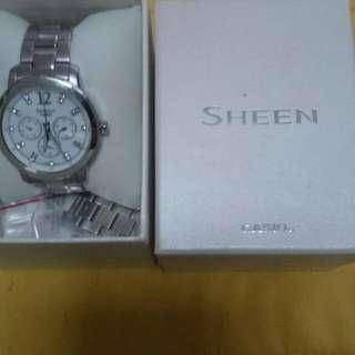 Ladies Watch Sheen By Casio